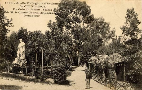 Le parc zoologique d acclimatation de cimiez for Le jardin zoologique