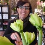 Mara, une femme fleur à Cimiez