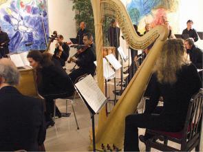 L'Ensemble Apostrophe au Musée Chagall