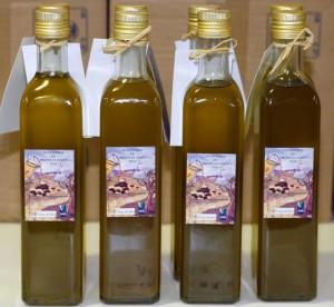Jardin des arènes : Huile d'olive solidaire