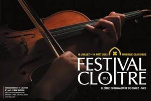 Festival du Cloître : Cimiez en musique jusqu'au 14 aout !