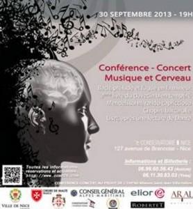 """CNRR : Conférence Concert : """"Musique et cerveau''"""