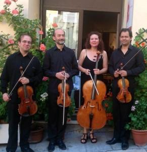 Le quatuor Nicea au Musée Chagall