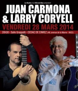 Larry Coryell & Juan Carmona