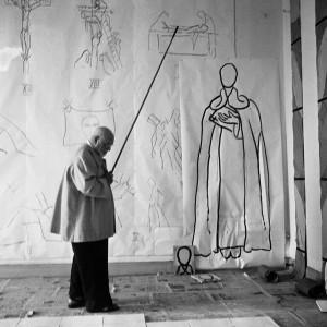Matisse au Régina par Lucien Hervé