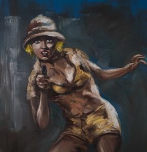 Gregory Forstner à la Galerie Eva Vautier
