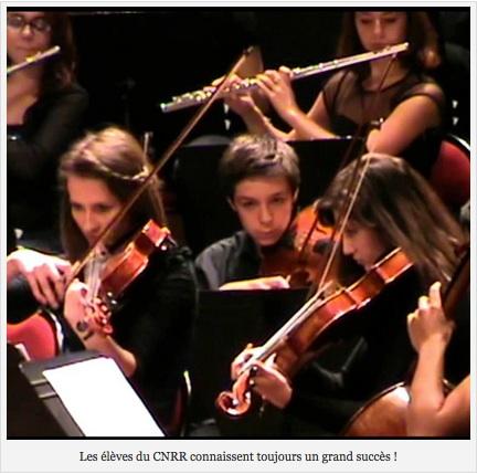 CNRR : Les Orchestres d'élèves en scène !