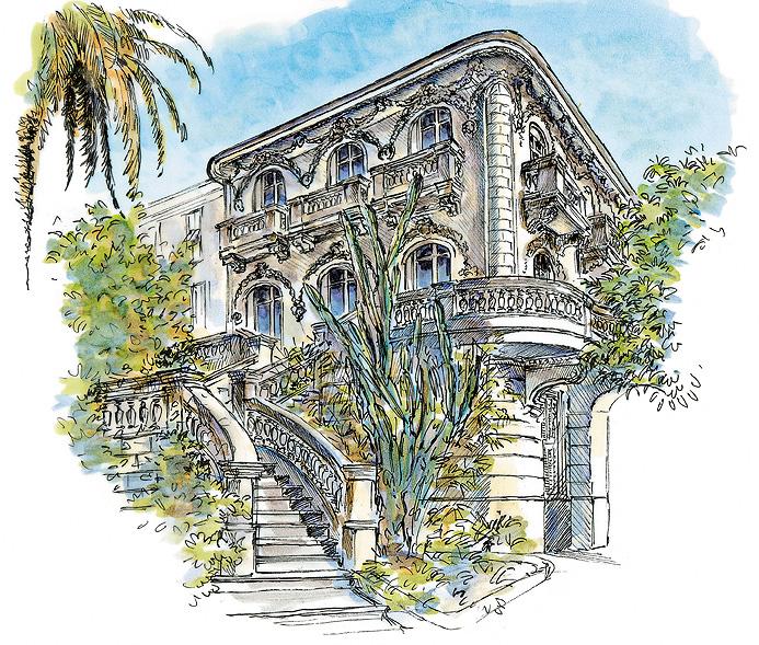 Villa Caméline : Vingt mille lieues sous les mers
