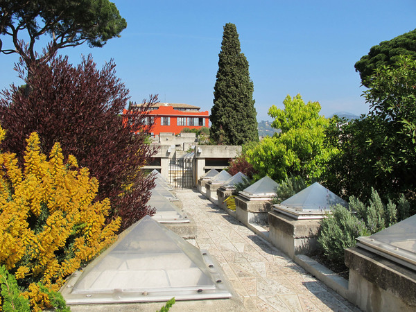 Villa arson jardins Nice Cimiez