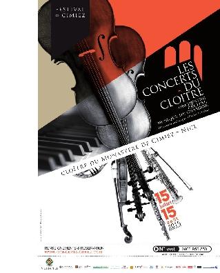 Concerts du Cloître : Du 5 au 15 aout