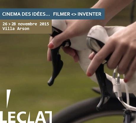 L'ECLAT : Filmer. Inventer
