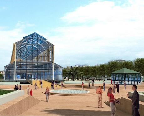 Gare du Sud - le pole urbain se profile