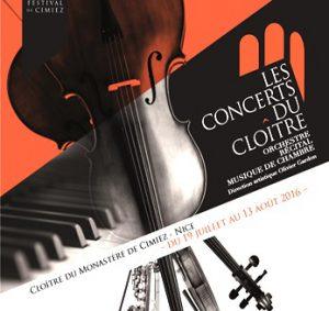 Concerts du Cloître cimiez nice