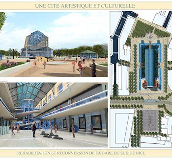 Gare du Sud : La verrière réhabilitée !