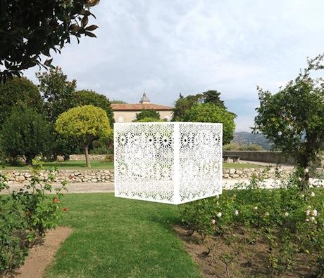 Une œuvre pour le jardin du Monastère