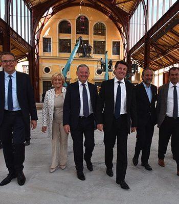 Gare du Sud : Inauguration de la Halle