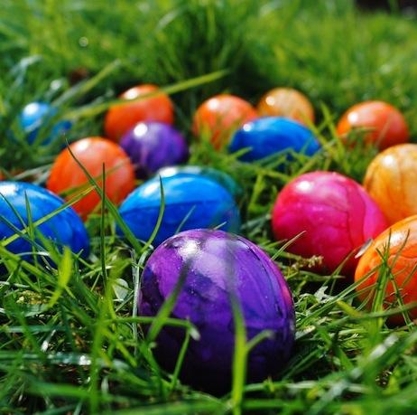 Chasse aux œufs aux Arènes de Cimiez