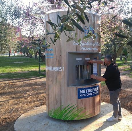 Des fontaines pour la soif à Cimiez