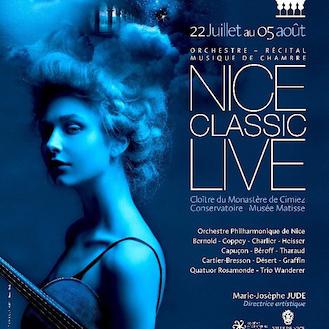 Nice Live Classic : Rendez-vous en Août