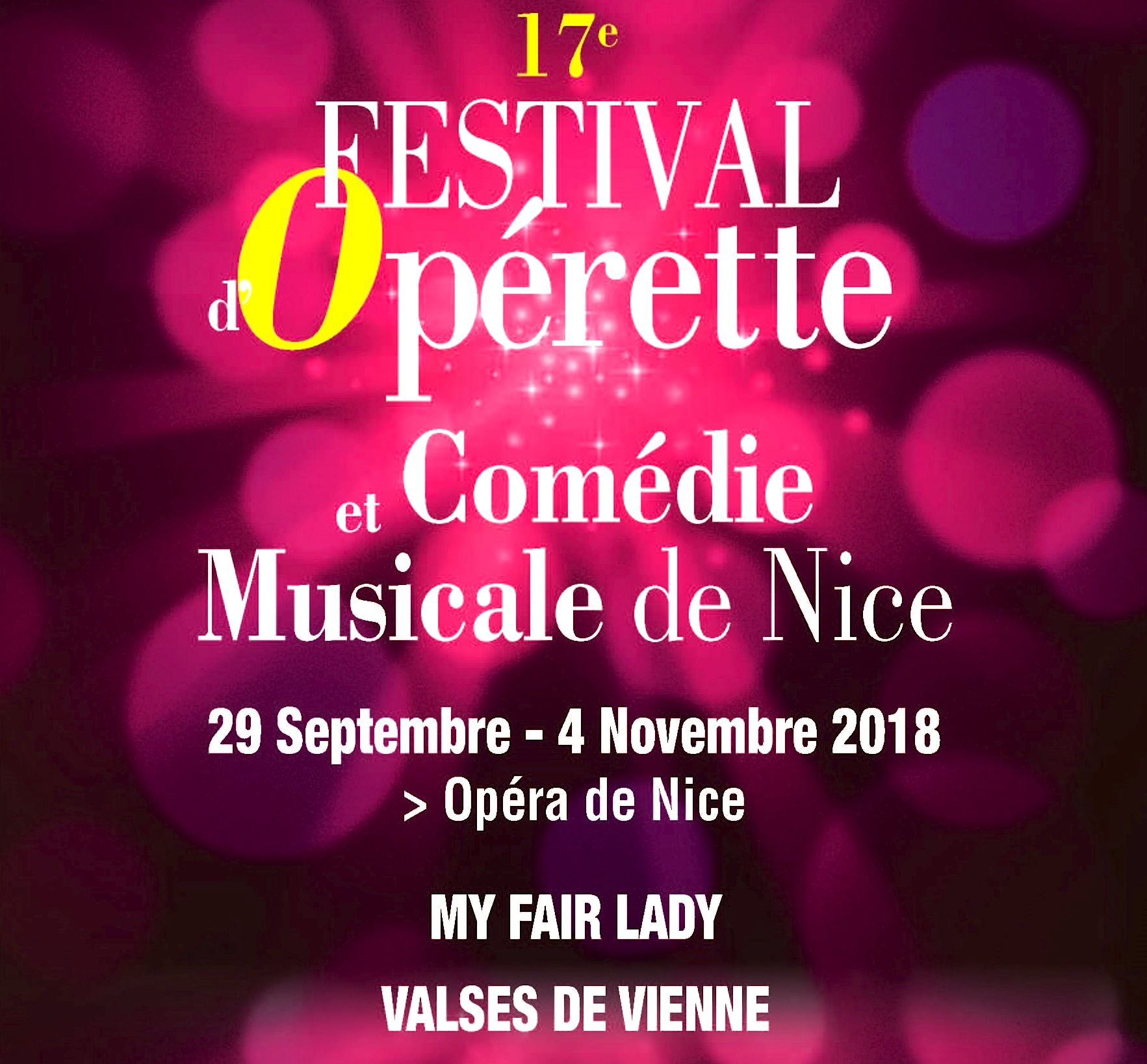 Festival d'opérette, la folle ivresse d'Offenbach