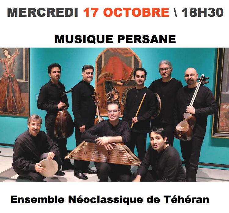 Musique persane au Conservatoire
