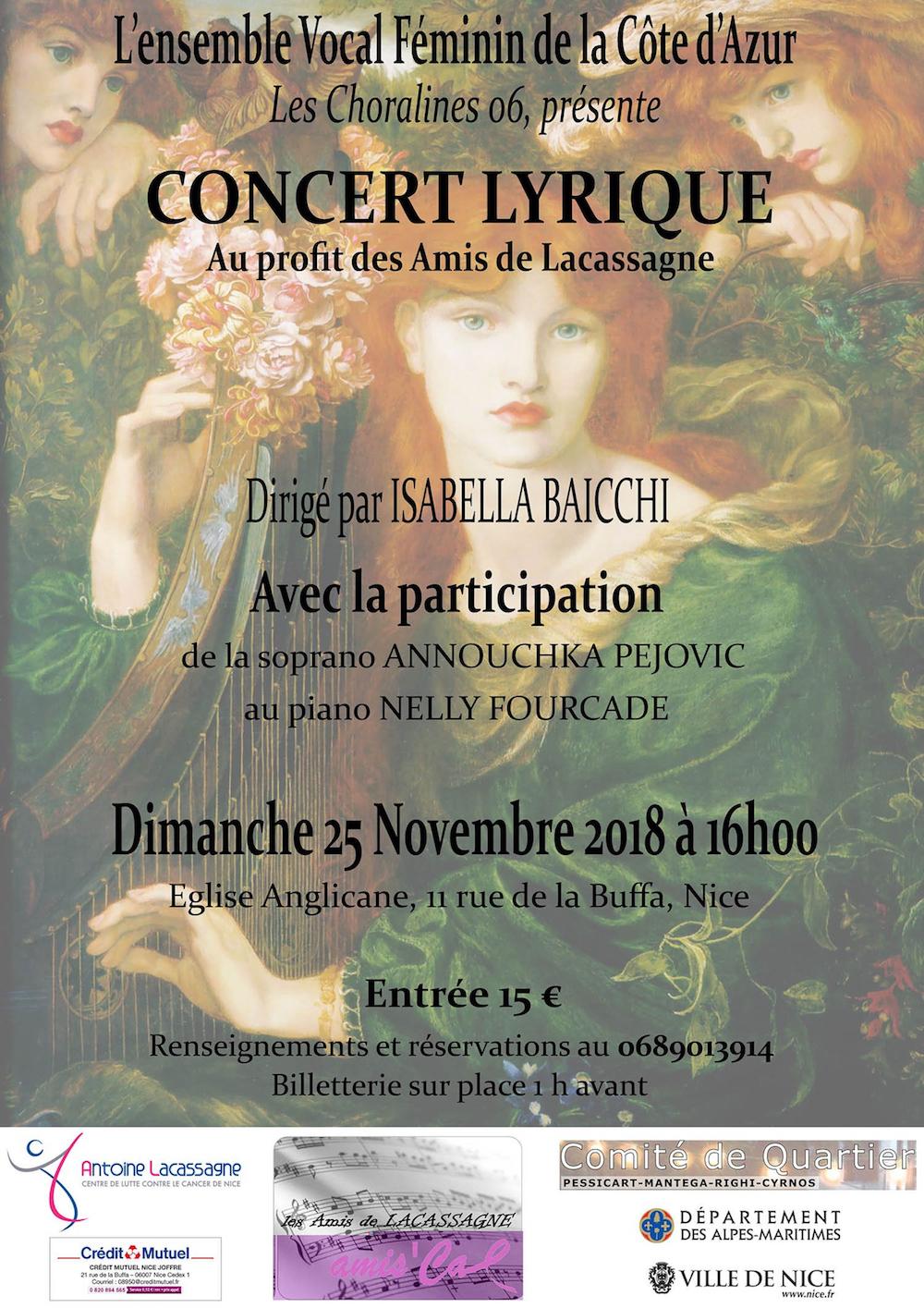 Un concert pour Lacassagne