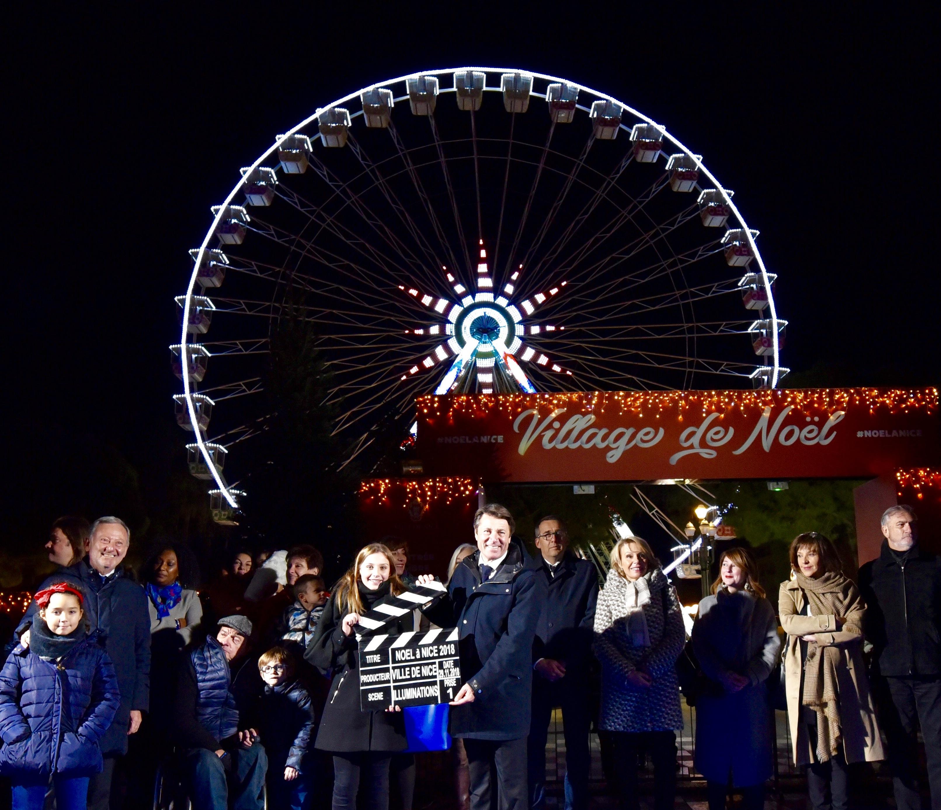 Noël à Nice : Moteur, Action !