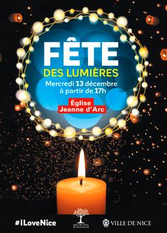 La Fête des Lumières à la Gare du Sud